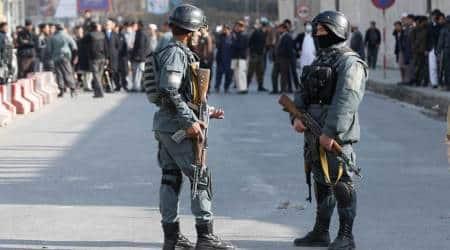 Nearly 100 killed in ambulance blast in Afghan capitalKabul