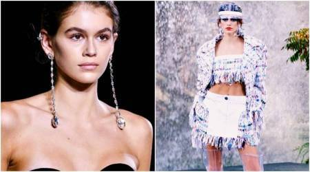 Cindy Crawford's 16-year-old daughter Kaia Gerber turns designer for Karl Lagerfeld