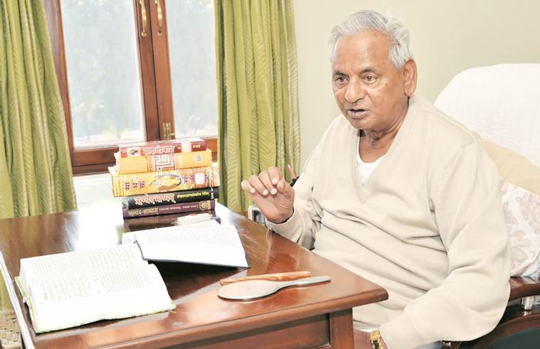 kalyan singh, babri masjid demolition, religious scriptures, rajasthan governor, tolerance, indian express