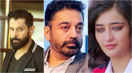 Vikram, Akshara to star in Kamal Haasan's next production
