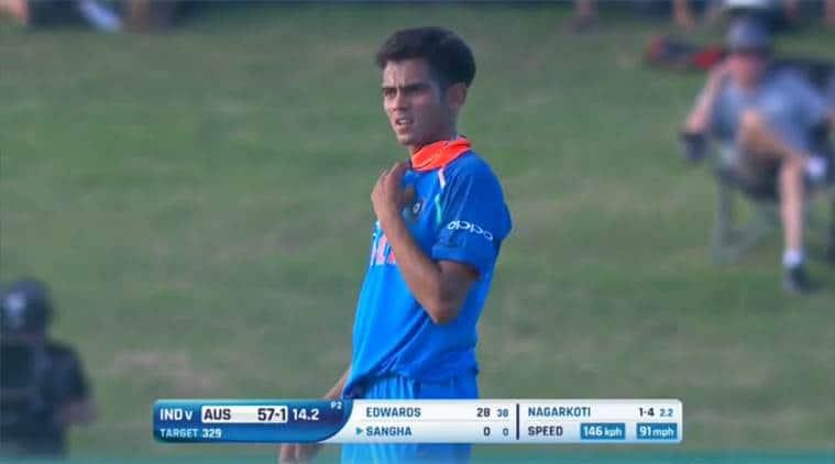 U19 World Cup 2018: Kamlesh Nagarkoti stuns Australia with over 140kph deliveries