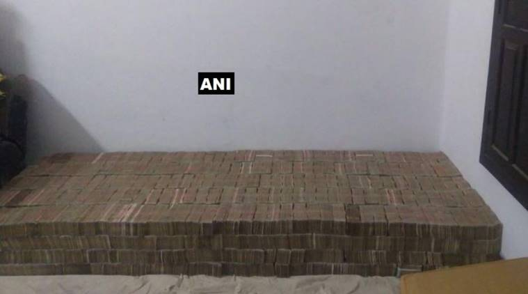 Kanpur IT raids Demonetised notes Kanpur raid on demonetised notes old notes found in raid Indian Express