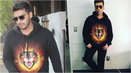 Arjun Kapoor or Karan Johar: Who wore the angry cat Gucci jersey better?