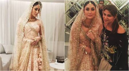 Kareena Kapoor Khan, Vikram Phadnis set the tone for bridal wear in 2018 with blush pink lehenga