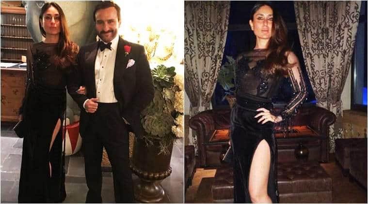 Kareena Kapoor Khan, Kareena Kapoor Khan New Year party, Kareena Kapoor Khan latest photos, Kareena Kapoor Khan fashion, Kareena Kapoor Khan Saif Ali Khan