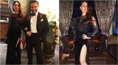 Kareena Kapoor Khan and Saif Ali Khan twin in sizzling black outfits at New Year bash