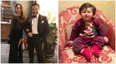 Kareena Kapoor, Saif Ali Khan welcome 2018 in a royal way, Taimur's adorable photo is the New Year gift