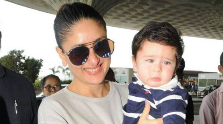 kareena kapoor with her son taimur ali khan