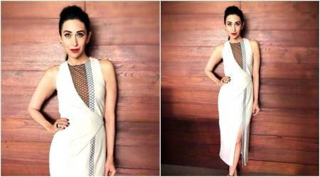 Karisma Kapoor looks elegant yet sultry in this Bibhu Mohapatra dress; see pics