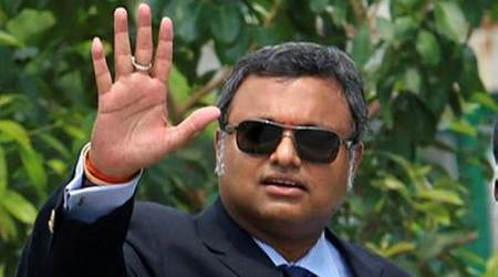 ED searches Karti's premises, Chidambaram calls it comedy of errors