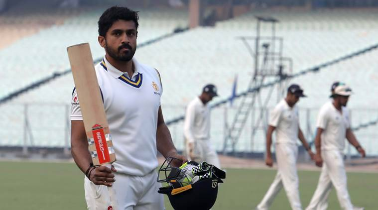 Syed Mushtaq Ali Trophy, Syed Mushtaq Ali Trophy 2018, Karun Nair, Karun Nair hundred, Karun Nair runs, sports news, cricket, Indian Express
