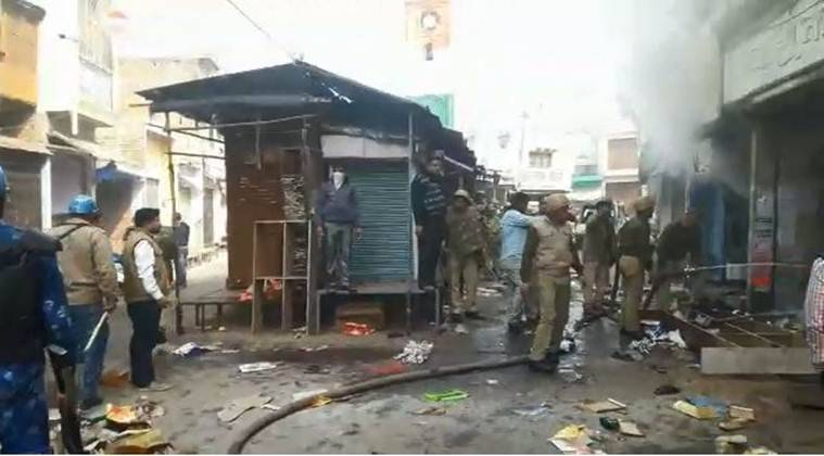 Violence again erupts in Uttar Pradesh's Kasganj, buses, shops set on fire