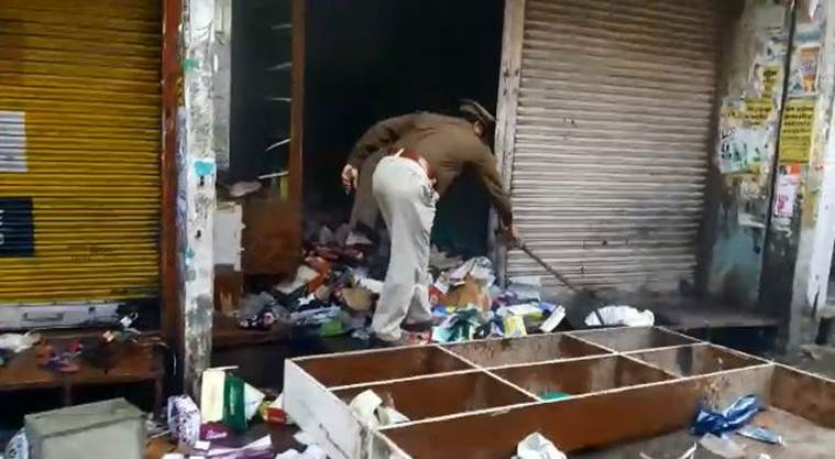 Uttar pradesh Kasganj violence: Shops torched, properties vandalised by mob; police on spot