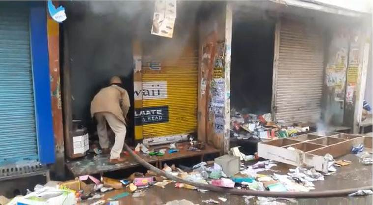 UP's Kasganj Continues to be on Edge, Shops and Religious Structure Attacked