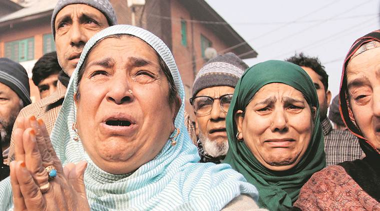 They are forcing people of Kashmir to pick up gun, says Bilal Ahmad Kawa's family
