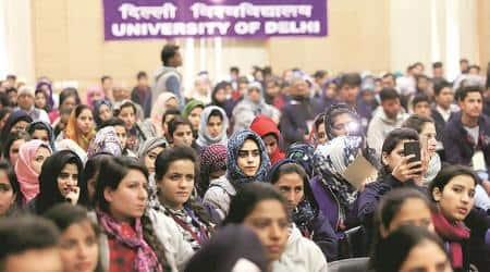Maitreyi Yatra: Freedom, food and heritage — J&K students arrive in 'filmo se acchaDelhi'