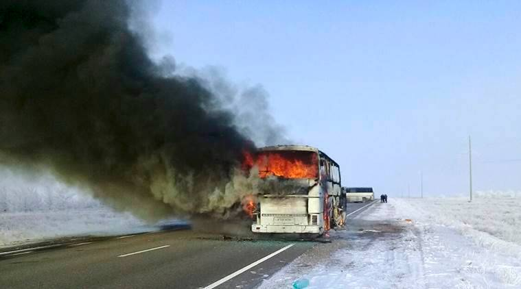 Kazakhstan bus accident