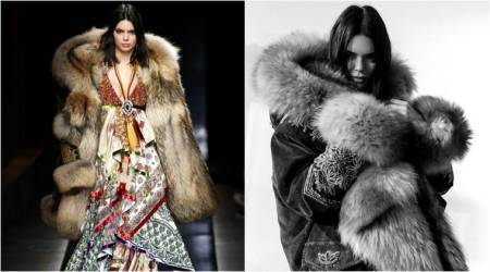 Supermodel Kendall Jenner receives backlash for wearing fur coat at Milan Fashion Week