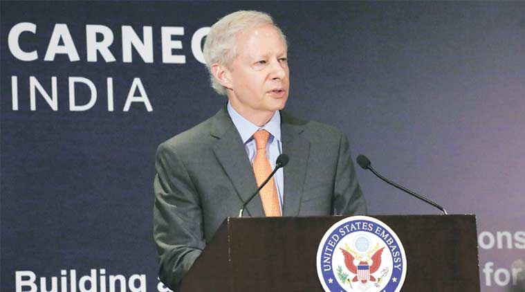 Indian US defence relations, cross-border terrorism, Pakistan, India-US talks, Kenneth Juster, United States India relation, Donald Trump, Narendra Modi, Indian express