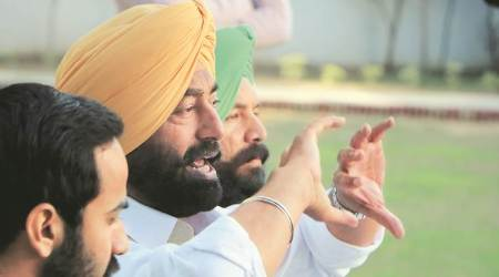 punjab assembly session, illegal sand mining, punjab assembly, sukhpal singh khaira, punjab politics, punjab opposition, indian express