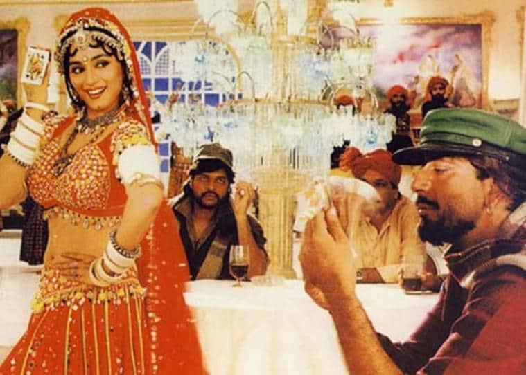 madhuri dixit and sanjay dutt in khalnayak