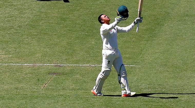 Ashes 2017, Usman Khawaja, Usman Khawaja runs, Usman Khawaja hundred, Usman Khawaja batting, Australia vs England, sports news, cricket, Indian Express