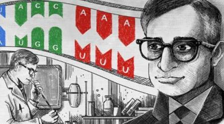 Har Gobind Khorana's work honoured with Google Doodle on his 96th birthday