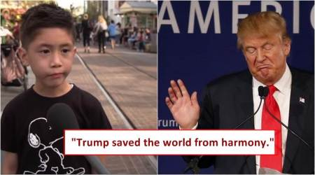 'Trump saved the world from harmony': Kids review POTUS (video)