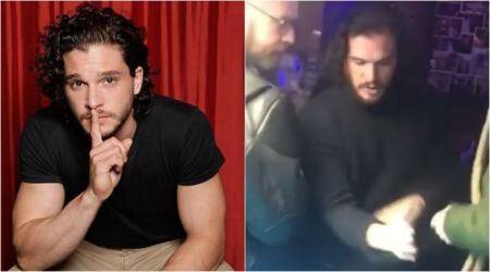 Kit Harington allegedly kicked out of a New York bar; video shows actor in disorderlystate