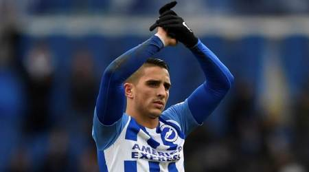 Anthony Knockaert scores first Premier League goal in2018
