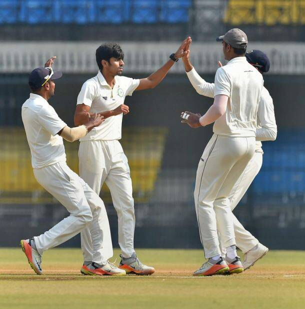 Ranji Trophy 2017, Ranji Trophy 2017 final, Vidarbha, Delhi, Vidarbha vs Delhi, sports gallery, cricket photos, Indian Express