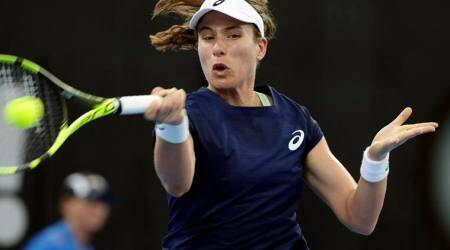 Briton Johanna Konta pushed to the brink again in Brisbane
