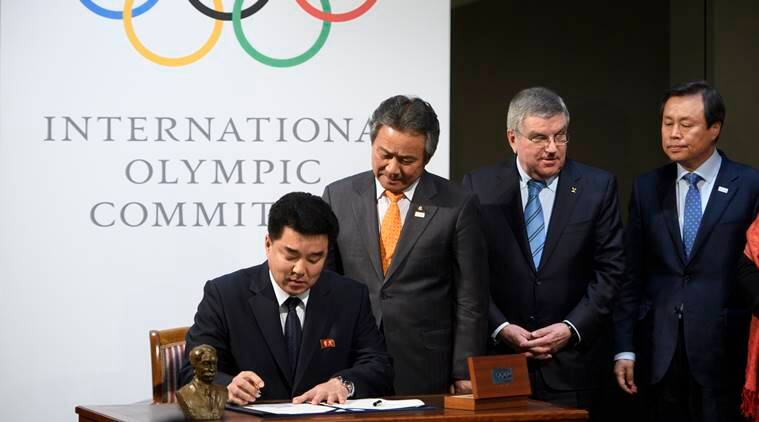 North Korean athletes will compete at Winter Olympics, IOC says