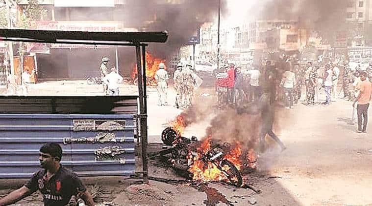 koregaon bhima, maratha dalit clashes, pune district, battle of koregaon bhima, maharashtra news, indian express