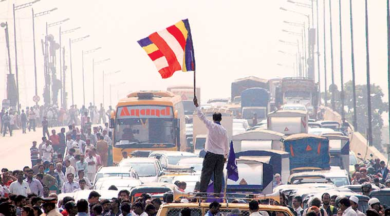 Dalit protests shut down Maharashtra, RSS blames 'Breaking India Brigade'