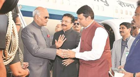 President Kovind arrives in Mumbai, to inaugurate conclave