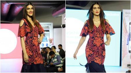 Kriti Sanon walked the ramp in a cut-shoulder outfit and it's a faux pas; here's why
