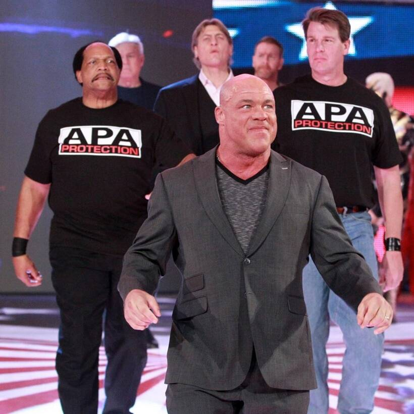 WWE Raw General manager Kurt Angle