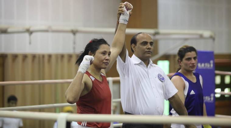 L Sarita Devi, L Sarita Devi India, L Sarita Devi National Women's Boxing Championships, National Women's Boxing Championships, sports news, Indian Express