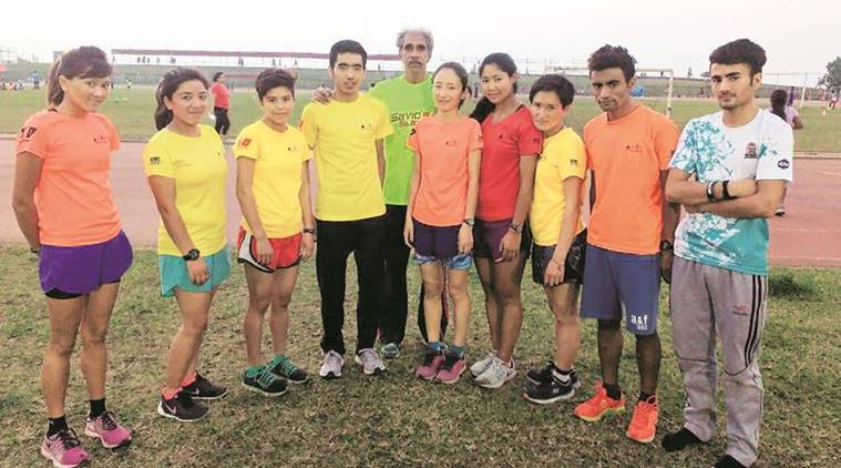 Ladakh, Mumbai Marathon, Ladakh Athletes at Mumbai Marathon, Mumbai News, Indian Express
