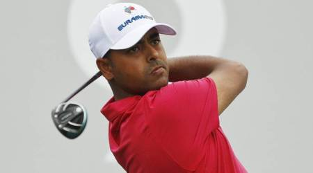 Anirban Lahiri slips at the end with two bogeys in first round at Honda Classic