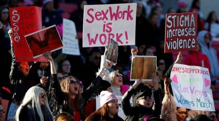 In Women's March finale, Las Vegas rally kicks off voter drive