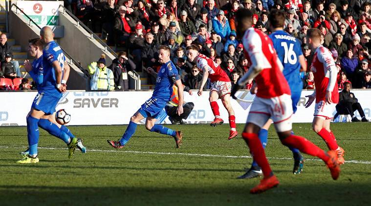 Fleetwood Town vs Leicester City