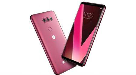 LG V30 Raspberry Rose, Raspberry Rose LG V30, Raspberry Rose V30 CES 2018, LG V30 Raspberry Rose announced at CES 2018, CES 2018, Android