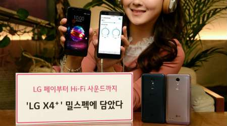 LG X4+ with LG Pay, Hi-Fi DAC audio launched in South Korea