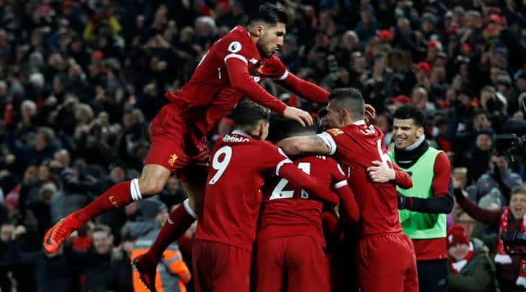 Liverpool End Manchester City S Unbeaten Run In Seven Goal Thriller Sports News The Indian Express