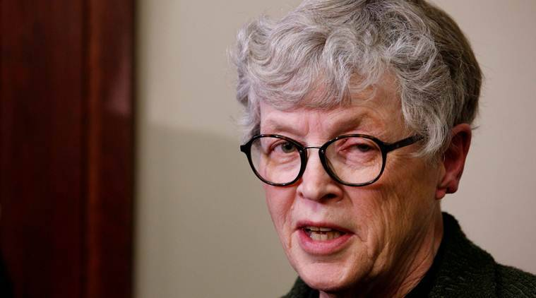 Lou Anna Simon, Lou Anna Simon resigns, Michigan State President, Michigan State President resignation, United states, Donald Trump,