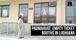 Padmaavat: Empty Ticket Windows In Ludhiana Theater Despite Police Security