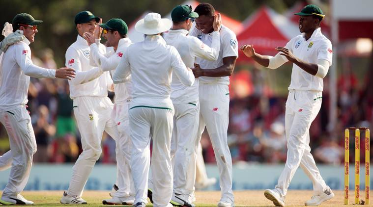 India vs South Africa, Ind vs SA, Lungi Ngidi, Lungi Ngidi bowling, Lungi Ngidi wickets, sports news, cricket, Indian Express