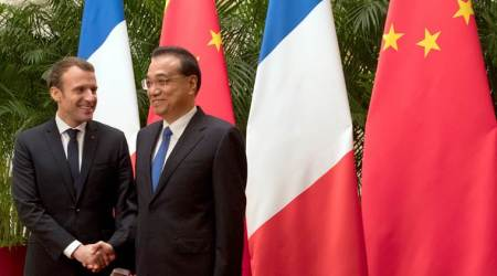 Emmanuel Macron urges China, EU to avoid pitfalls of protectionism